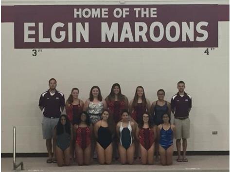 2016 Elgin/Larkin Girls Swim Team