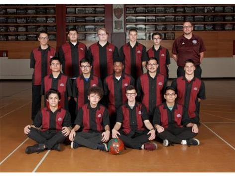 2016-2017 Boys Bowling Team