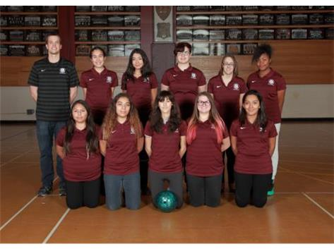 2016-2017 Girls Bowling Team