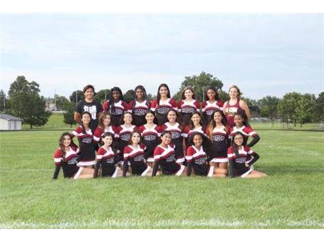 2017 Fall Cheer Team