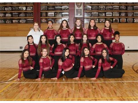2018-2019 Varsity Winter Dance Team