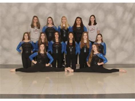 2019-2020 U46 Varsity Gymnastics Team