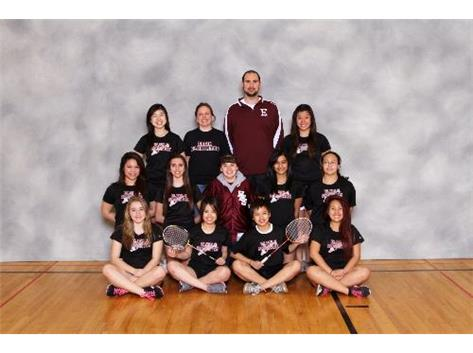 2012 Varsity Badminton
