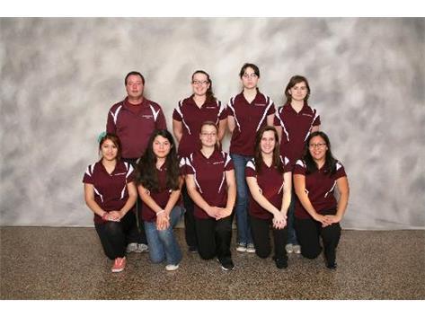 2012-2013 Girls Bowling Team