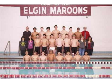 2012-2013 Boys Swimming Team