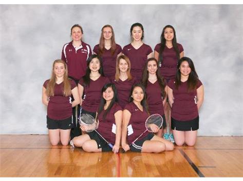 2013 Varsity Badminton