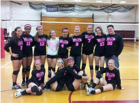 Varsity at 2012 Volley for the Cure
