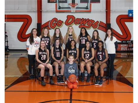 Girls Varsity Basketball Team