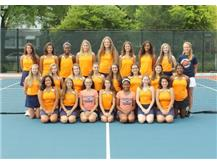 "<br> <font size=""4"">Girls Junior Varsity Tennis Team</font> <br><br> <font size=""3"">( 2016 - 2017 )</font> <br><br><b>Fall</b>"