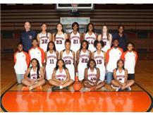 "<br> <font size=""4"">Girls Varsity Basketball Team</font> <br><br> <font size=""3"">( 2016 - 2017 )</font> <br><br><b>Winter</b>"