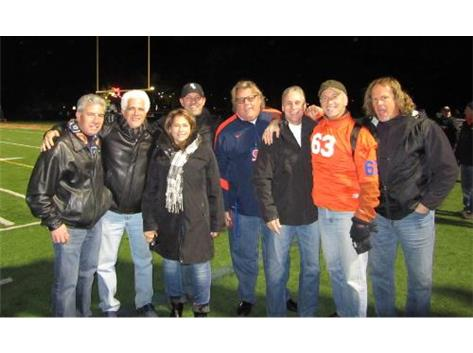 Members of the Class of 1973 Celebrate Their 40th Anniversary at the 2013 Hall of Fame Football Game