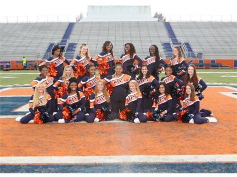 "<br> <font size=""4"">Varsity Poms Team</font> <br><br> <font size=""3"">( 2016 - 2017 )</font> <br><br><b>Fall</b>"