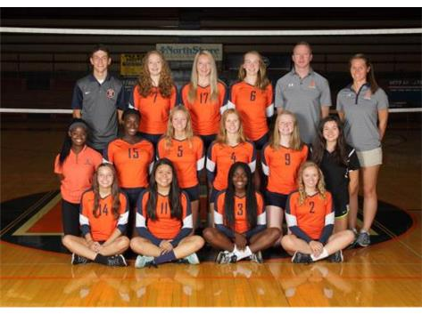 "<br> <font size=""4"">Girls Varsity Volleyball Team</font> <br><br> <font size=""3"">( 2016 - 2017 )</font> <br><br><b>Fall</b>"