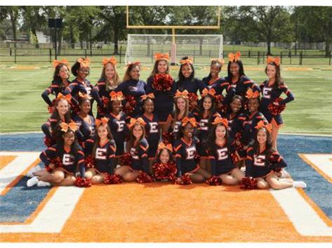 "<br> <font size=""4"">Girls Varsity Cheerleading Team</font> <br><br> <font size=""3"">( 2017 - 2018 )</font> <br><br><b>Fall</b>"