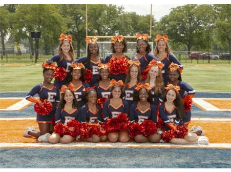 """<br> <font size=""""4"""">Cheer - Varsity - Fall </font> <br><br> <font size=""""3"""">( 2018 - 2019 )</font> <br><br><b>Fall</b>"""