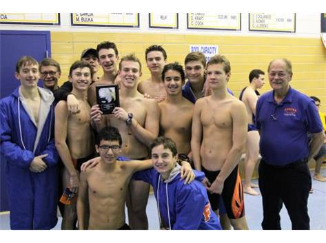 Team with 3rd Place Award at Leyden Invite December 17, 2016