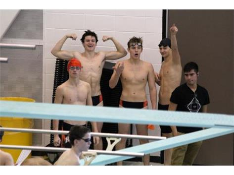 200 Medley Relay finishing 7th Place at Buffalo Grove Invite