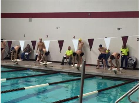 Zayn and Dan start 50 Freestyle JV Elgin