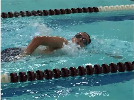 Jason in 500 FR Swim at Elgin