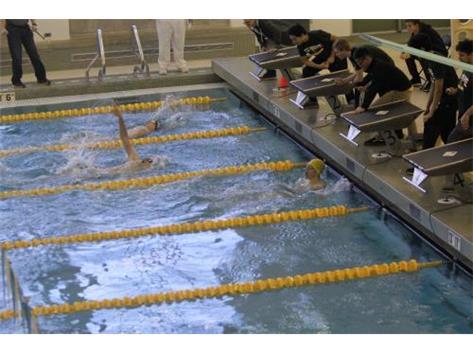 Nik's 100 Backstroke Win 56.91 at Elk Grove Invite