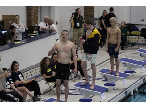 Nik Sectionals medalist and State Qualifier 100 Yd Backstroke at Glenbrook South HS