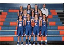2017-2018 Varsity Girls Basketball Team Head Coach: Kyle Henkel, Asst. Coach: Bob Cochran