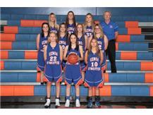 2017-2018 Freshmen Girls Basketball Team Head Coach: Randy Tate
