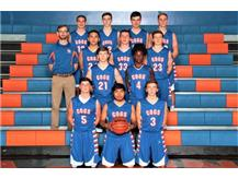 2018-19 GKHS JV Boys Basketball Team Head Coach: David Baumann