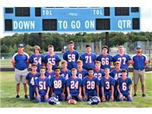 2019 Freshmen Football Head Coach: Mike Kuhn  Asst Coach: Cam Davekos