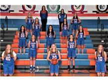 2020-2021 GKHS JV Girls Basketball Team Head Coach: Emma Risley