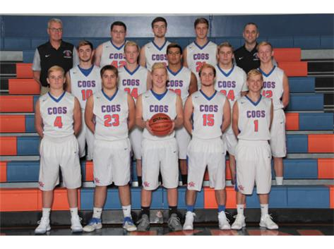 2017-2018 GKHS Varsity Boys Basketball Team Head Coach: Corey Jenkins - Asst. Coach: John Noyes  -  Not pictured: Sam Rice, Jaylen Mullins
