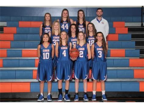 2017-2018 Varsity Girls Basketball Team Head Coach: Kyle Henkel, Asst. Coach: Bob Cochran