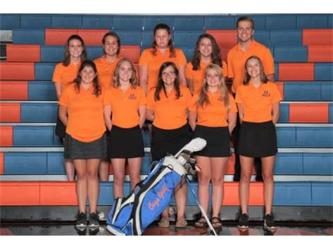 2018 GKHS Girls Golf  Head Coach: Kyle Carbone
