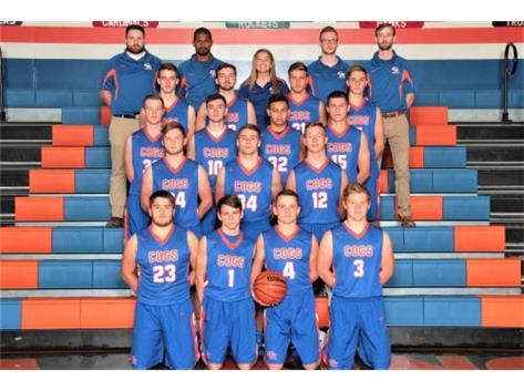 2018-2019 GKHS Varsity Boys Basketball Team Head Coach: Ethan Franklin - Asst. Coach: Monteil Johnson