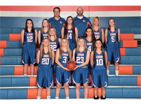 2018-2019 Varsity Girls Basketball Team Head Coach: Clayton Johnsen - Assistant Coach: Anson Ellis