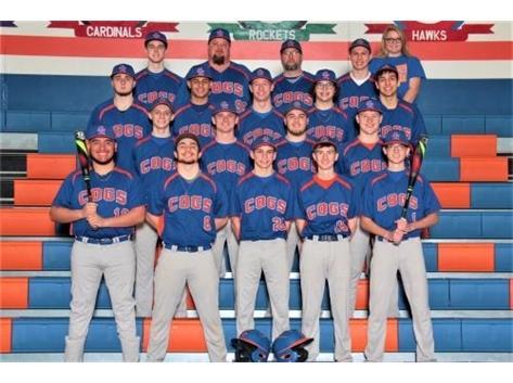 2018-2019 GKHS Varsity Baseball Team Head Coach: Roger Butler - Asst. Coach: Scott Franson