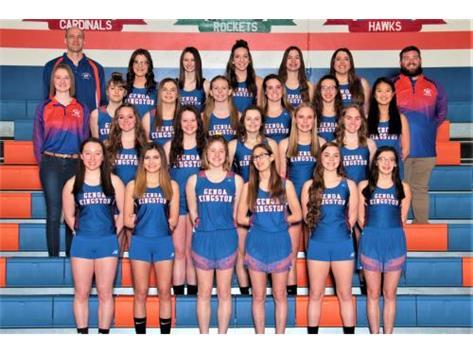 2018-2019 Girls Track & Field Team Head Coach: Barry Schmidt - Asst. Coaches: Ben Owen, Danny Russell, Brianna Kramer