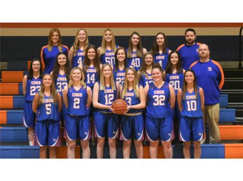 2019-2020 GKHS Varsity Girls Basketball Team Head Coach: Brendan Royalty