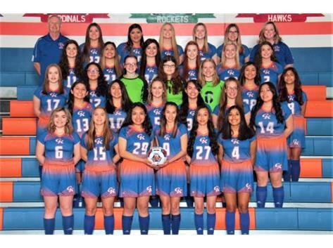 2019-2020 GKHS Varsity & JV Girls Soccer Team Head Coach: Randy Tate - Asst. Coach: Holly Lippold