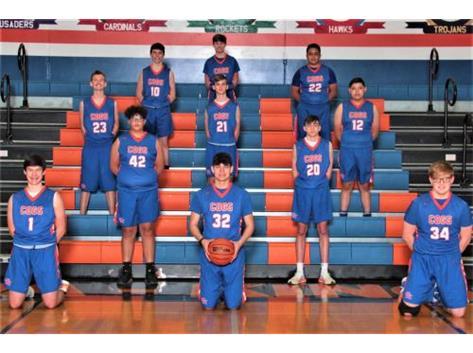 2020-2021 GKHS JV Boys Basketball Team Head Coach: David Baumann