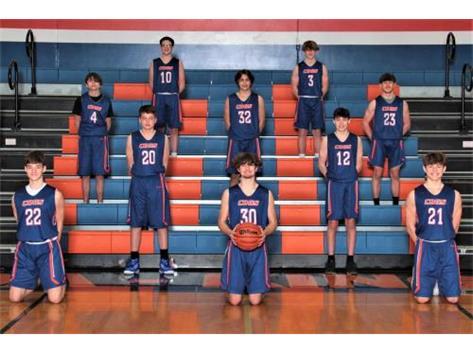 2020-2021 GKHS F/S Boys Basketball Team Head Coach: Monteil Johnson