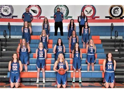 2020-2021 GKHS Varsity Girls Basketball Head Coach: Brendan Royalty Asst. Coach: Anson Ellis