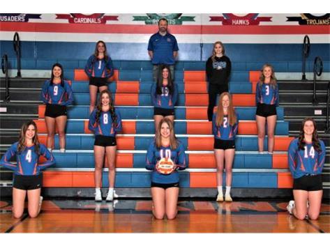 2020-2021 GKHS Varsity Volleyball  Head Coach: Keith Foster  Asst Coach: Marv Leavitt