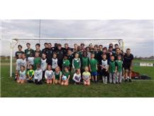 JV and Freshman Boys Soccer volunteered as guest coaches for the Grayslake Park District's youth soccer league on Saturday, 10/7. Special thanks to the Park District for great opportunity!