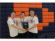 All Tournament Team - Tyler Greene, Andrew Hurlburt, Nick Symonds