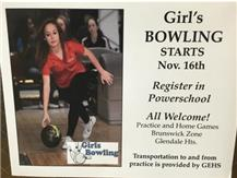 Join Girls Bowling, be part of a great 2015-16 Rams athletic experience!