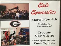 Join Girls Gymnastics, be part of a great 2015-16 Rams athletic experience!