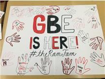 Cheer Team Hand Prints