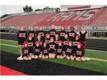 2016 Freshmen Cheer (Sideline)