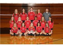 2017 Girls Volleyball Freshmen A